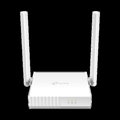 Router Inalámbrico WISP, 2.4 GHz, 300 Mbps, 2 antenas externas omnidireccional 5 dBi, 2 Puertos LAN 10/100 Mbps, 1 Puerto WAN 10/100 Mbps