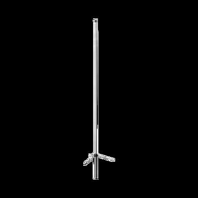Antena base UHF, fibra de vidrio ajustable, rango de frecuencia 406 - 512 MHz