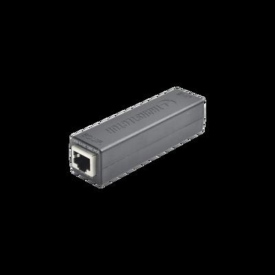 Protector PoE Contra Descargas Eléctricas Familia DPR Para Aplicaciones Gigabit, Impedancia 100 Ω, GDT, Instalación en Chasis