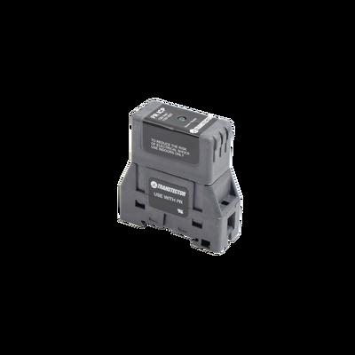 Protector de Silicio SASD 120 Vac en Montaje DIN Rail Para Una Fase, Certificación UL 1449 4th Ed