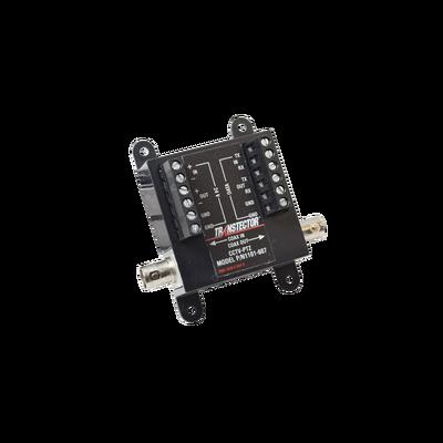 Protector Contra Descargas Eléctricas Para Cámaras PTZ Para 12 Vcd, 24 Vcd y Turbo HD BNC