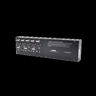 Protector Panel de Distribución de Energía, 120 Vca, 8 Tomas.