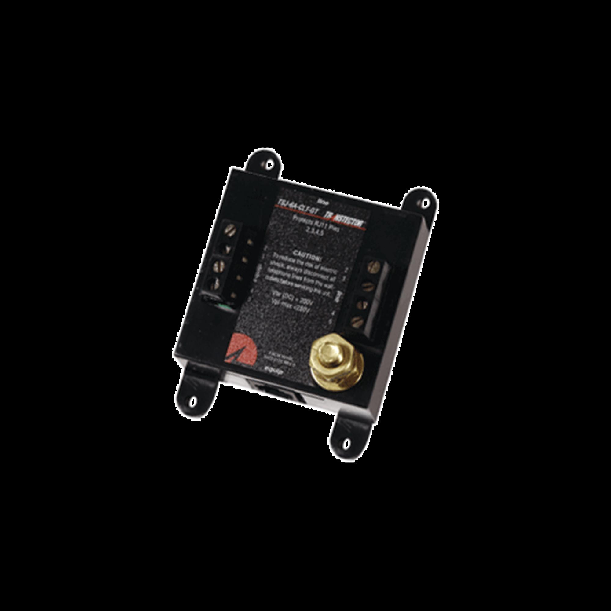 Protector Contra Picos de Voltaje Para 2 Líneas Telefónicas Con Tecnología SASD y Tubo de Gas (1101-740)