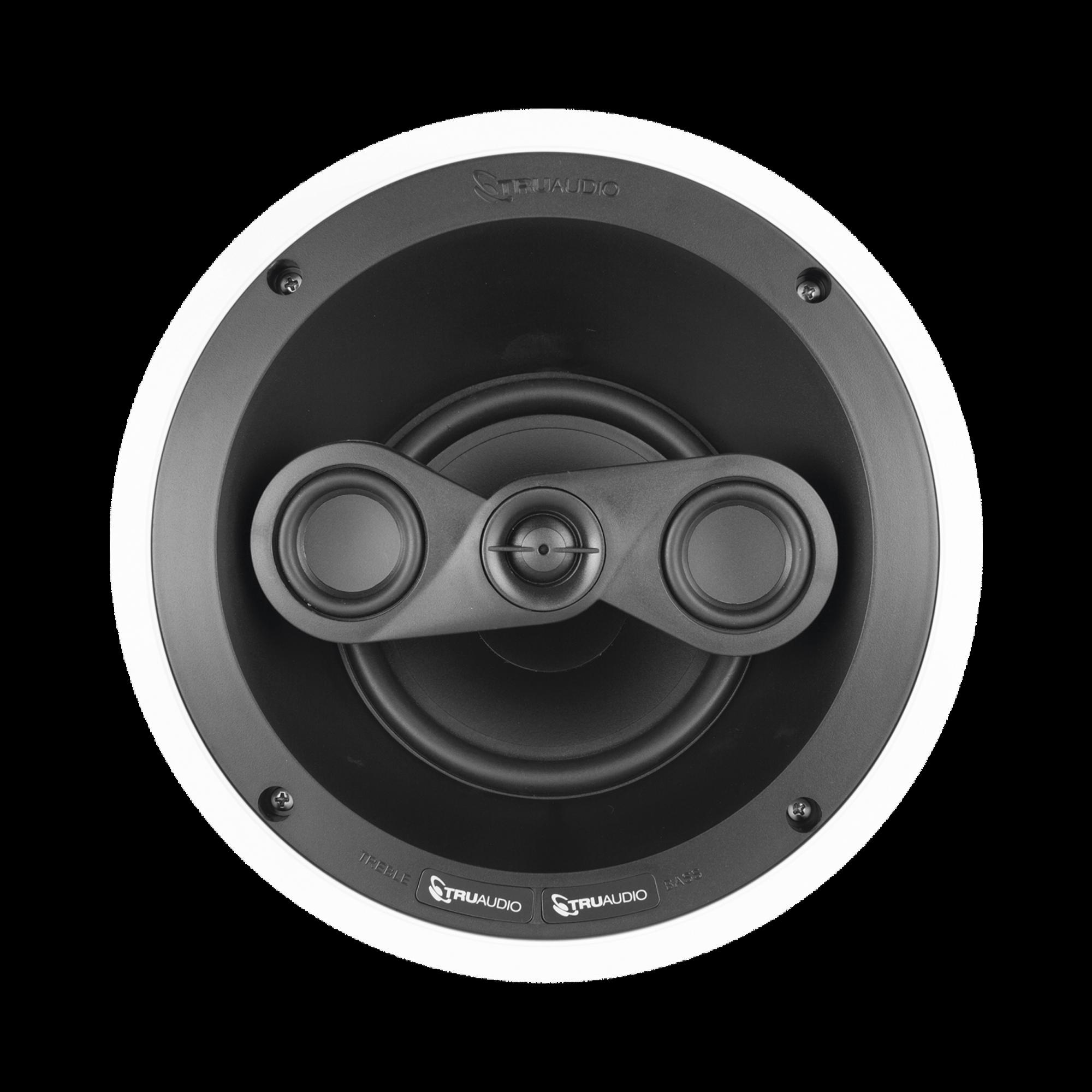 Revolve Series Altavoz LCR de techo de 6.5in y 3 vías con Woofer de polietileno