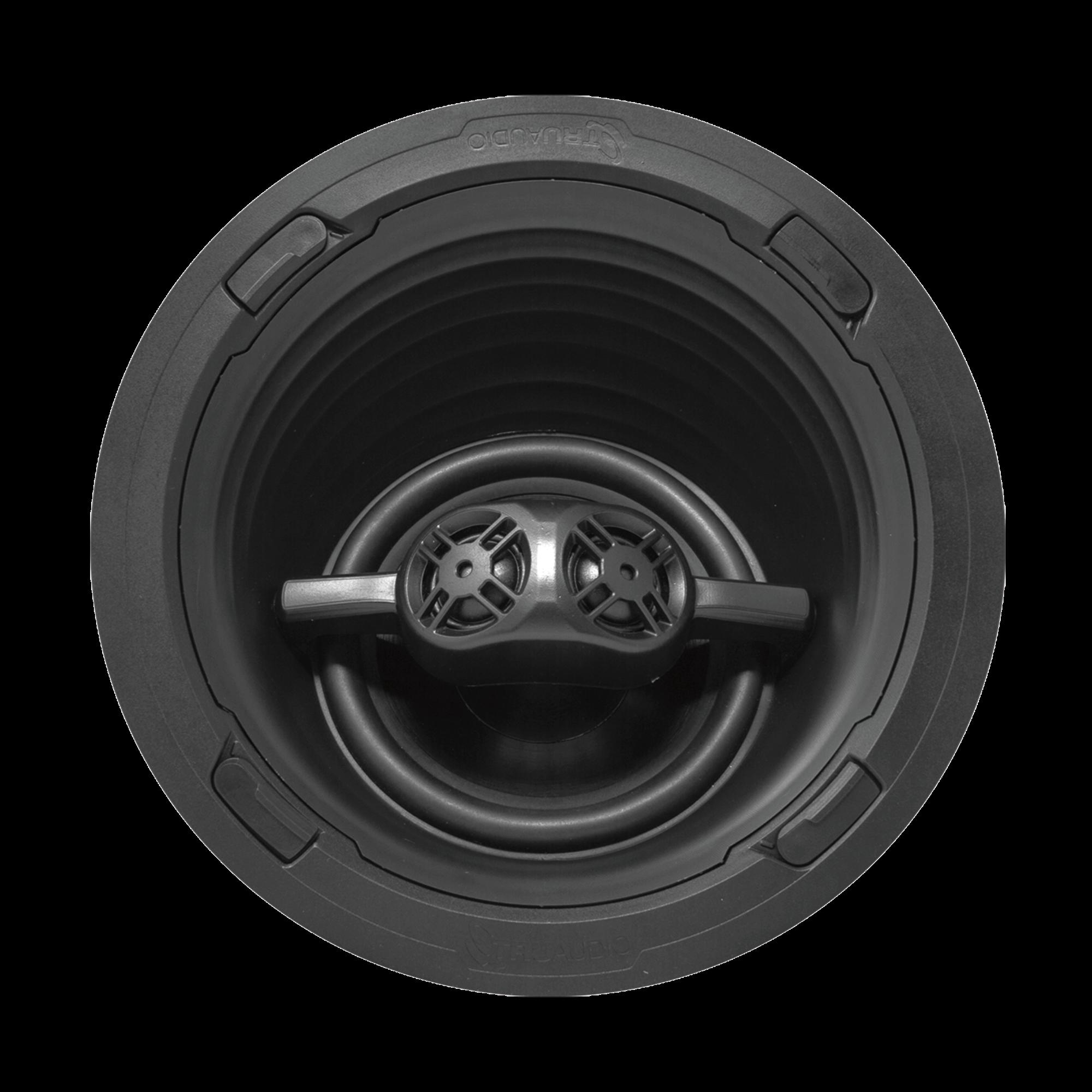 REV Series Altavoz Surround | Angulo para Techo de 3 Vias para Empotrar | Cine en Casa | Woofer de 7in de Polipropileno | 2 Tweeter de 1in | 150W | 8?