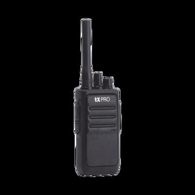 Radio Portátil UHF 400-470 MHz, 16 canales, 2 Watts de ...