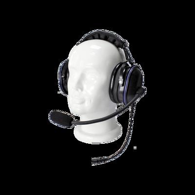 Auriculares de diadema de uso rudo sobre la cabeza para Kenwood TK-480/2180/3180, NX200/300/410