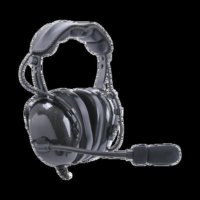 Auriculares para radios aéreos, con cancelación de ruido, adaptador universal