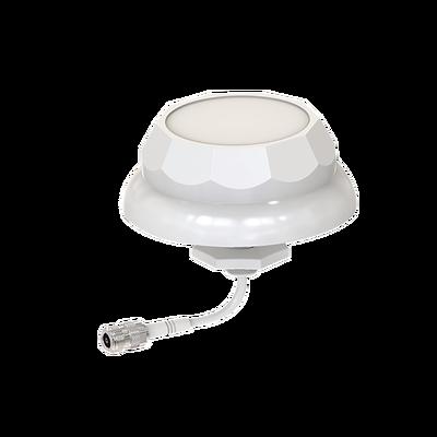 Antena tipo domo, frecuencia (2.4 GHz) , ganancia de 3 dBi, conector N-hembra, perfecto para oficina o edificio