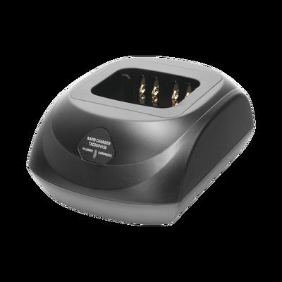 Cargador rápido de escritorio para DGP4150, DGP5550, DGP8550, DEP550/ 570 para baterías PMNN4409, PMNN4066 de Li-Ion