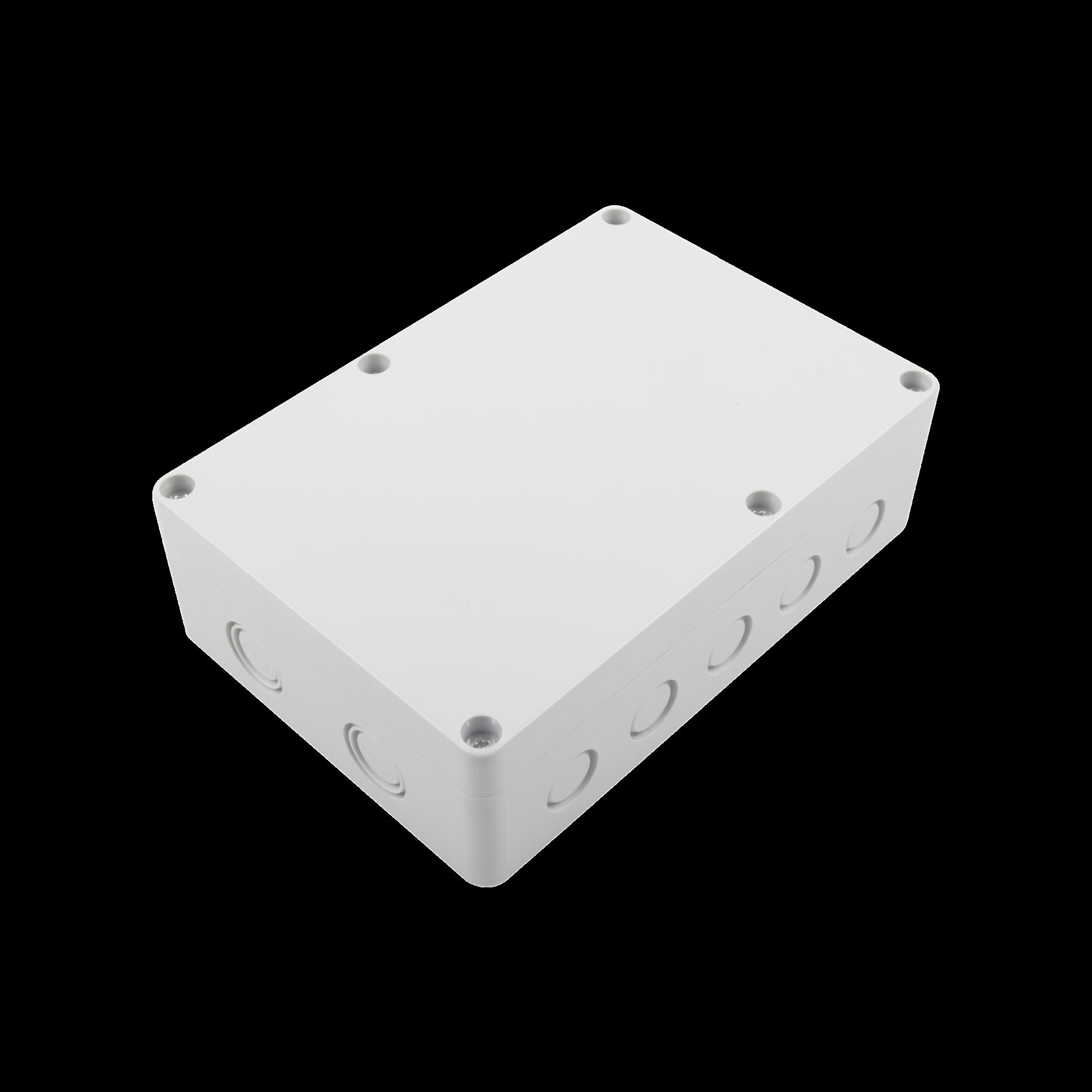 Gabinete Plástico para Exterior (IP65) de 180 x 125 x 57 mm Cierre por Tornillos.