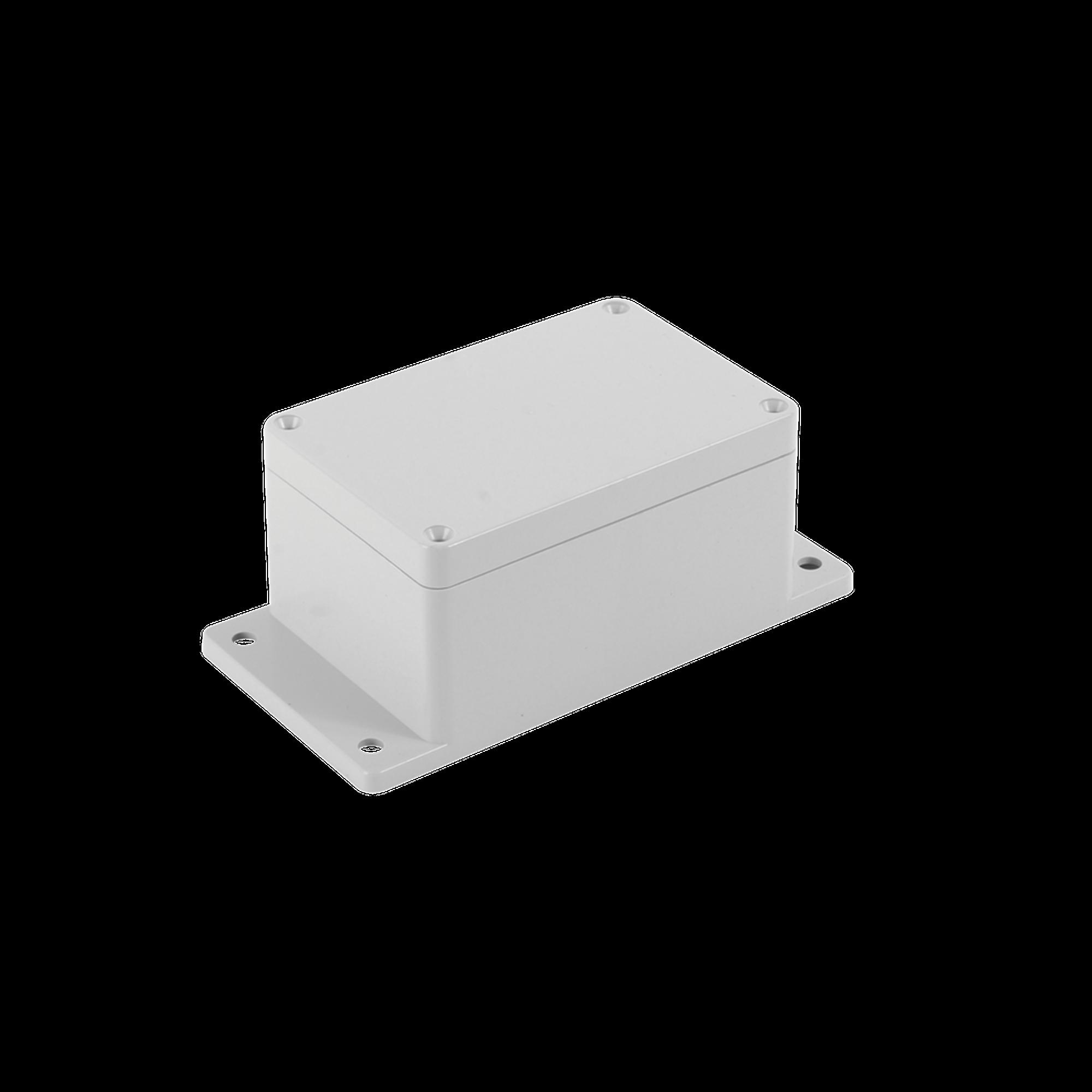 Gabinete Plástico para Exterior (IP65) de 115 x 88 x 55 mm Cierre por Tornillos.
