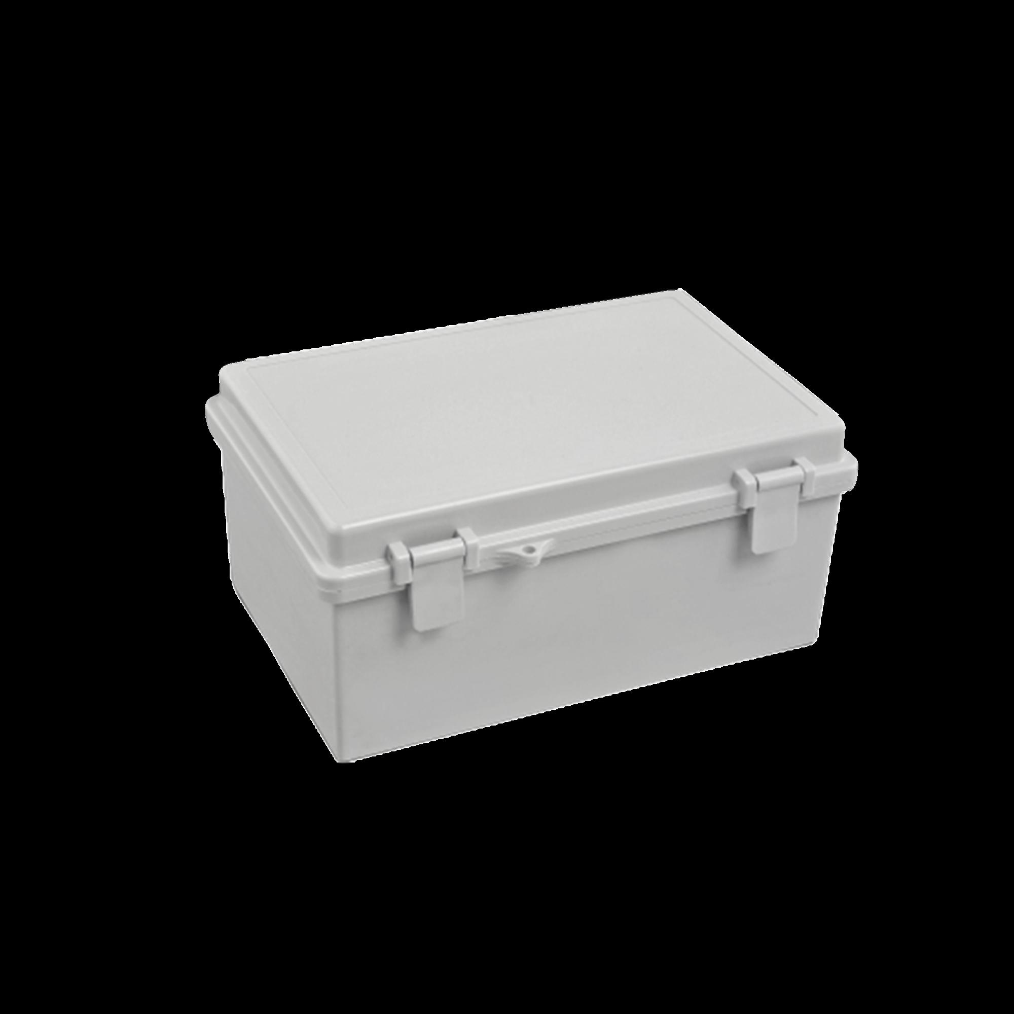Gabinete Plástico para Exterior (IP65) de 150 x 220 x 105 mm Cierre por Broche.