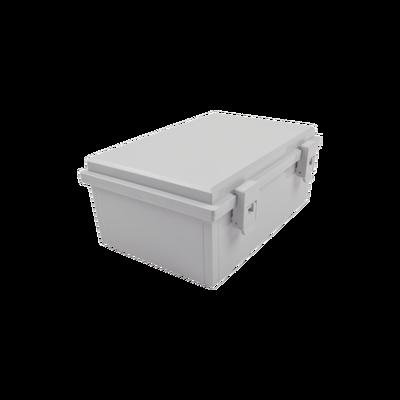Gabinete Plástico para Exterior IP65 de 170 x 251 x 101 mm Cierre por Broche.