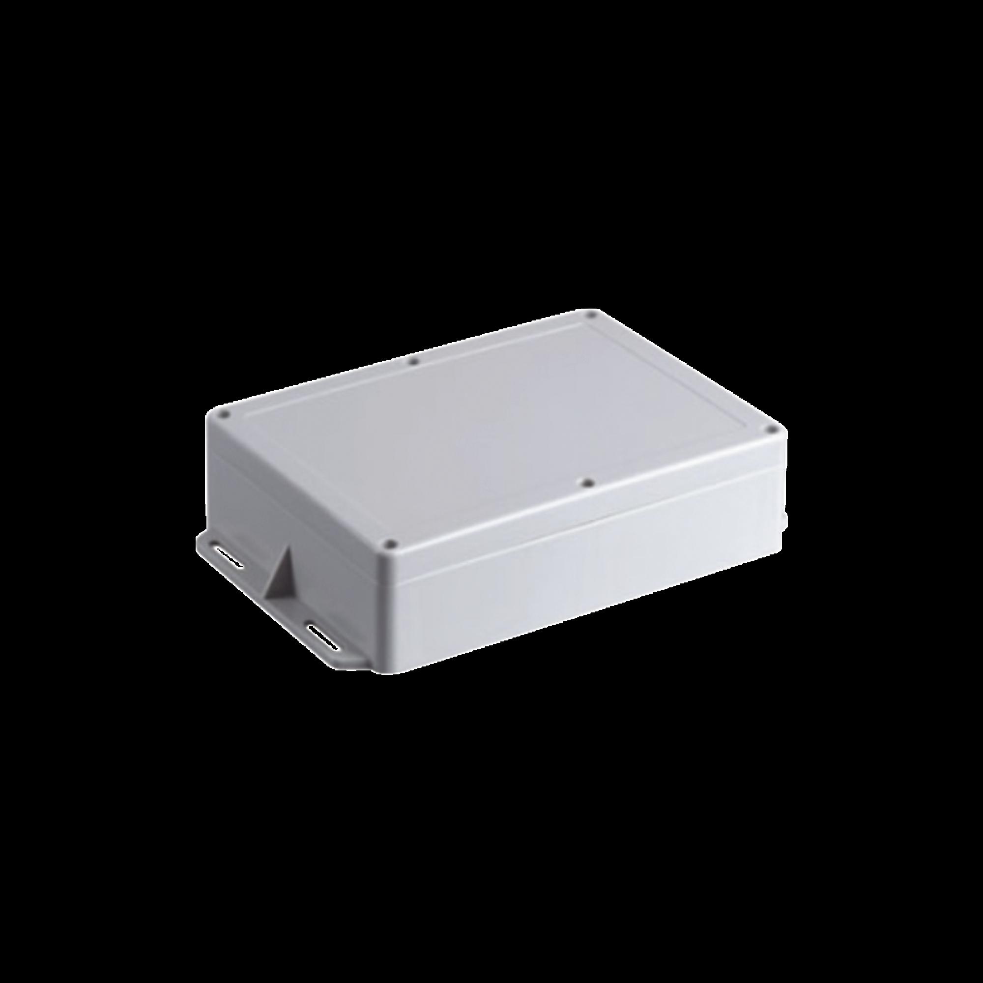 Gabinete Plástico para Exterior (IP65) de 160 x 220 x 100 mm Cierre por Tornillos Metálicos. Tiene Orejas para instalación a muro.