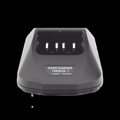 Cargador rápido de escritorio para radios Kenwood TK2100, TK3100, TK2102A, TK3102A