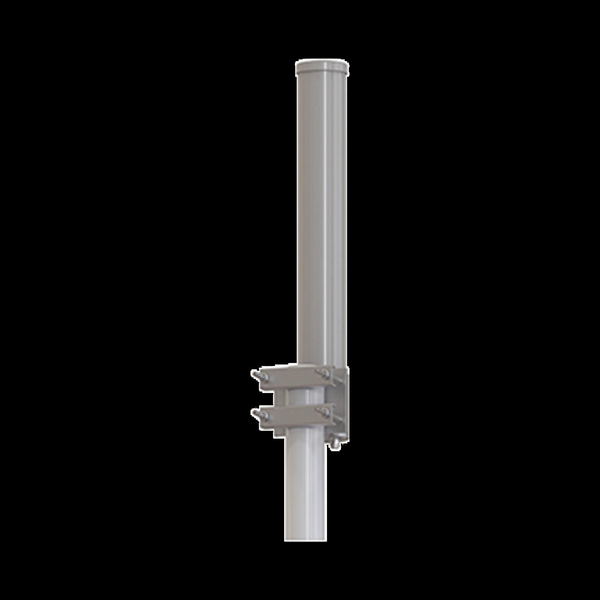 Antena Omnidireccional 5.1 - 5.8 GHz Ganancia 13 dBi, , incluye jumpers con conetor N-Hembra a SMA macho inverso, Dimensiones 8.4 x 60 cm / Peso 2 kg