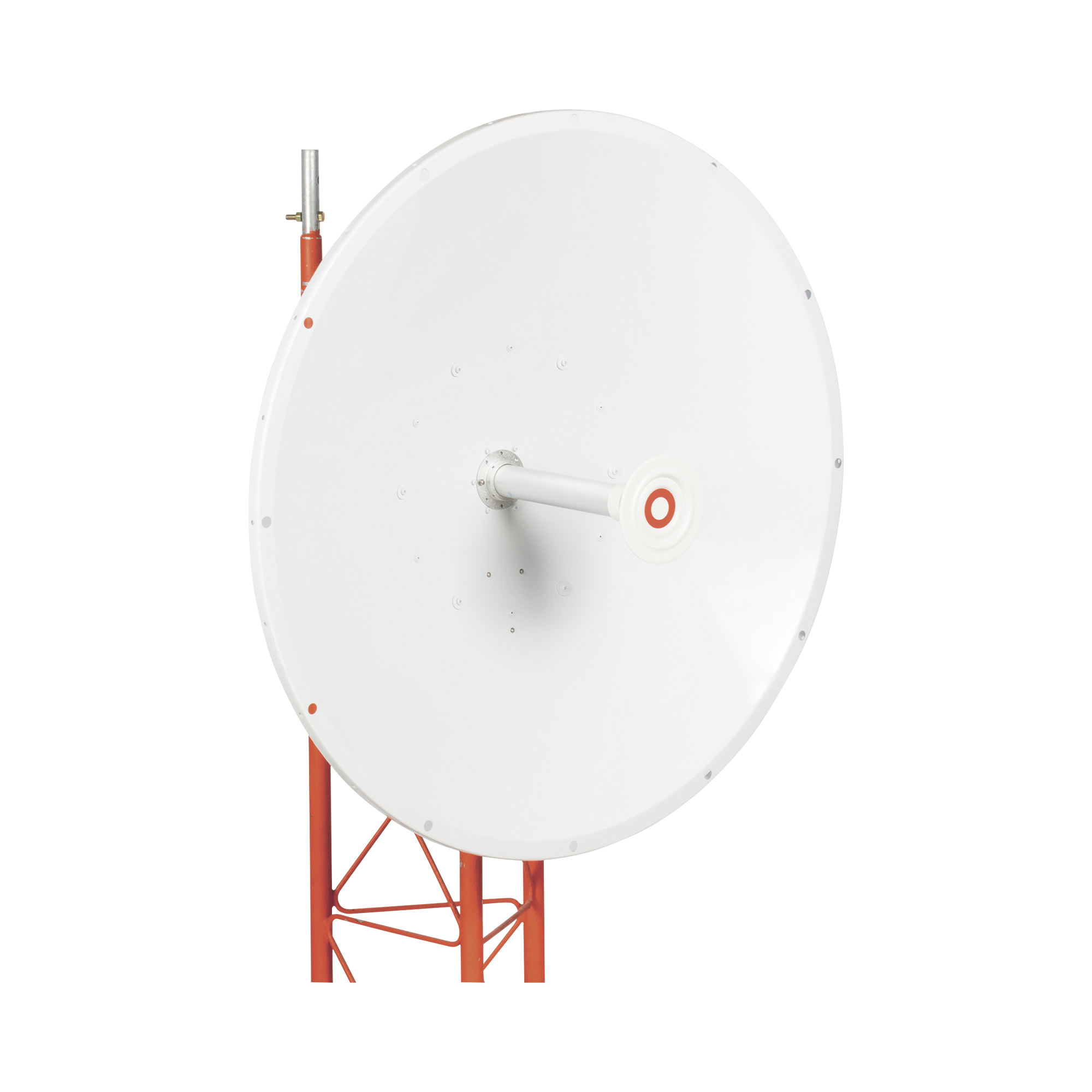 Antena direccional, Ganancia de 34 dBi, rango de frecuencia (4.9 - 6.5 GHz), Conectores N-hembra, Polarización doble, incluye montaje para torre o mástil