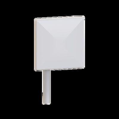 Antena tipo panel para exterior, 5.1 - 5.8 GHz, Ganancia 23 dBi, Dimensiones 30 x 30 x 4.5 cm, Conector N-hembra,