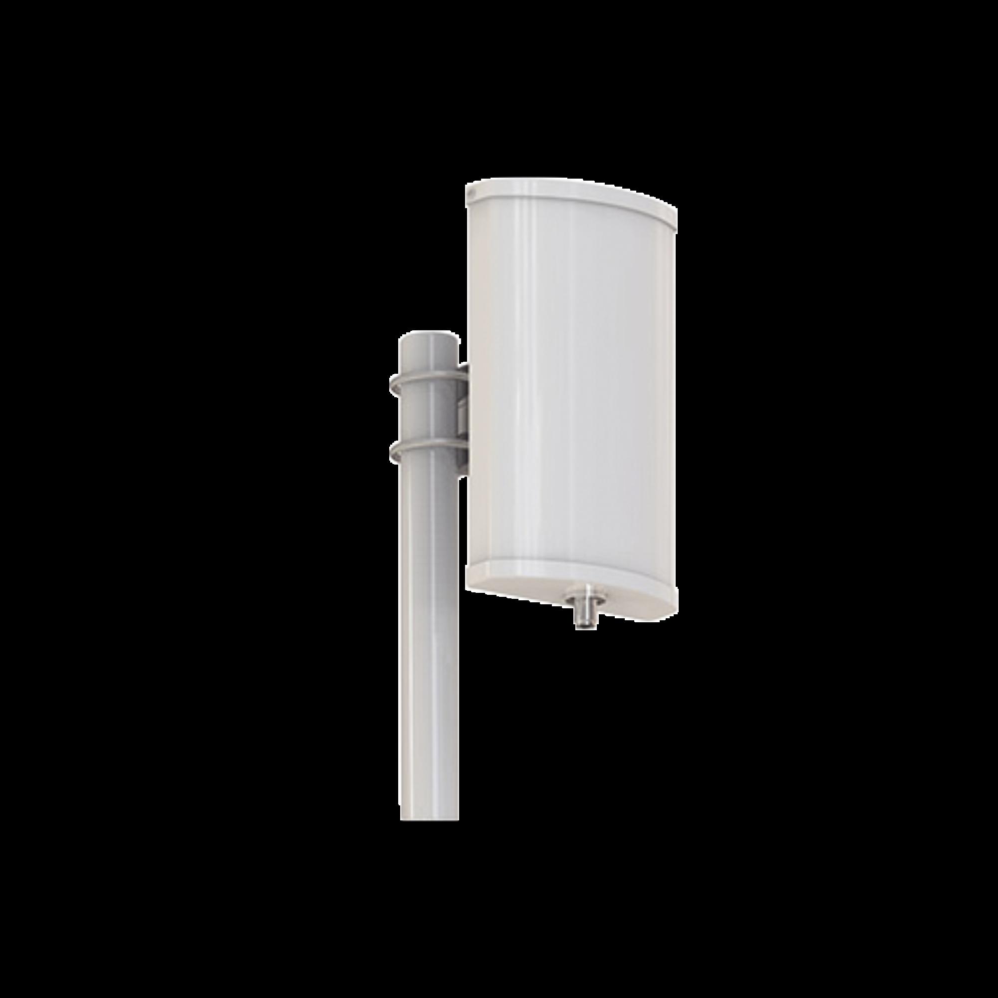 Antena 2.4 GHz Sectorial 120?, ganancia 11 dBi, conector N- hembra, incluye montaje, peso de 2.5 kg