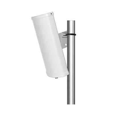 Antena Sectorial de 2.4 GHz, ganancia 12 dBi,  Angulo de apertura de 90 °, Conector N-Hembra, con montaje incluido