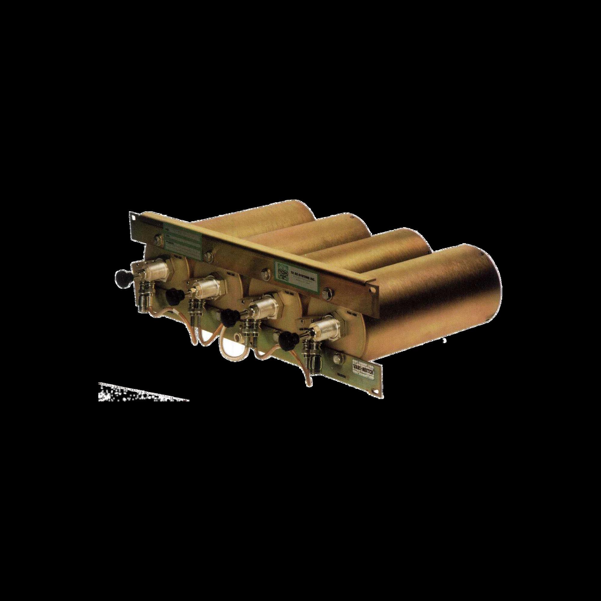 Duplexer Pasa Banda-Rechazo de Banda, 442-450 MHz, 4 Cavidades (4 Dia.) 5 MHz, 350 Watt, N Hem.