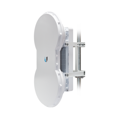 Radio de Backhaul de alta capacidad full duplex con antena integrada de 23 dBi, con tecnología airFiber hasta 1.2 Gbps, 5 GHz (5725 - 6200 MHz)