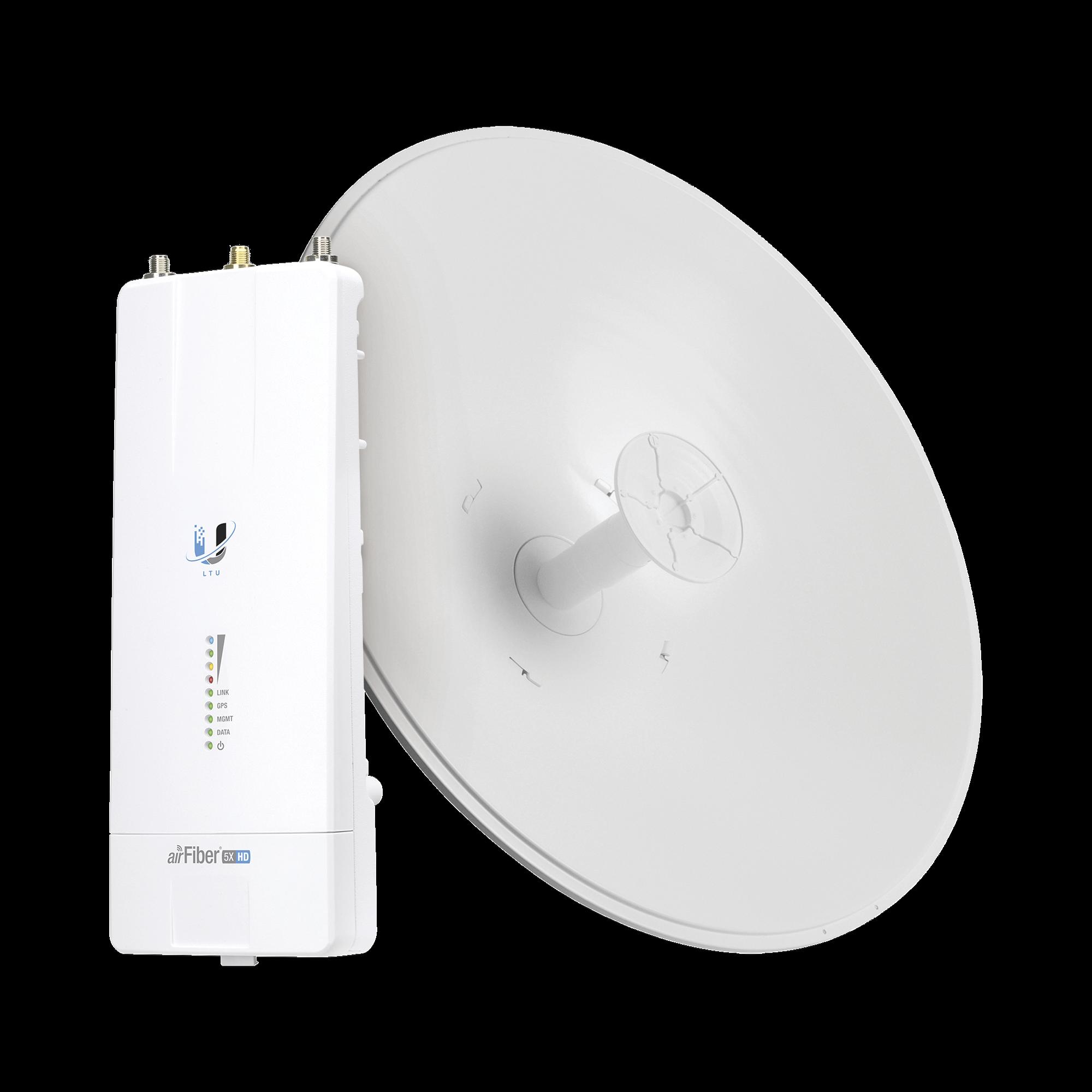 Airfiber Kit AF5X-HD con Antena Fiber 30 dBi Slam-45