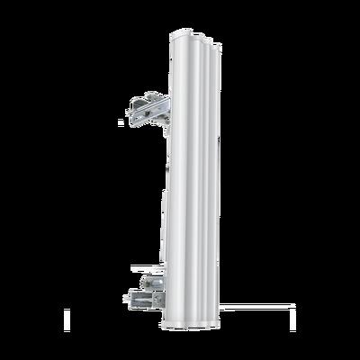 Antena sectorial para radio estaciones base airMAX de 90 grados de cobertura horizontal, 5 GHz (5.15-5.85 GHz) de 20 dBi