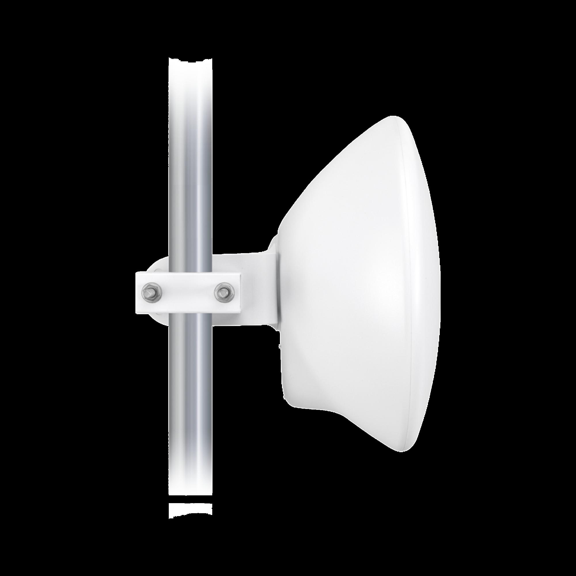 Cliente PtMP LTU? Pro, 5 GHz (4.8 - 6-2 GHz) con antena integrada de 24 dBi