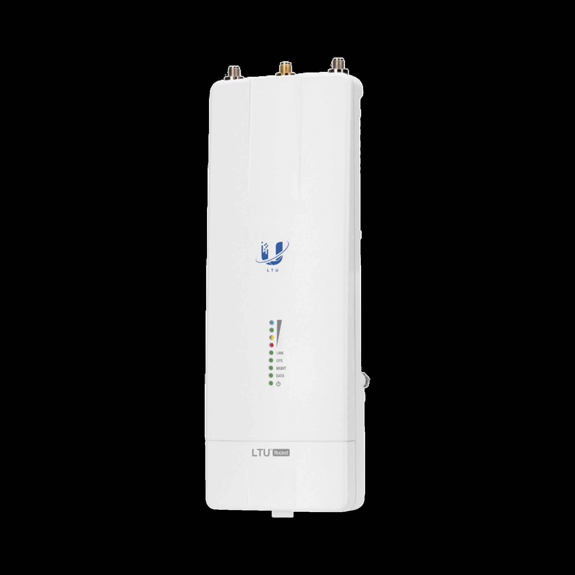 Radio Estación Base PtMP LTU? Rocket, hasta 600 Mbps, 5 GHz (4.9 - 6.2 GHz), con filtrado de RF patentado y GPS sync para un rendimiento superior