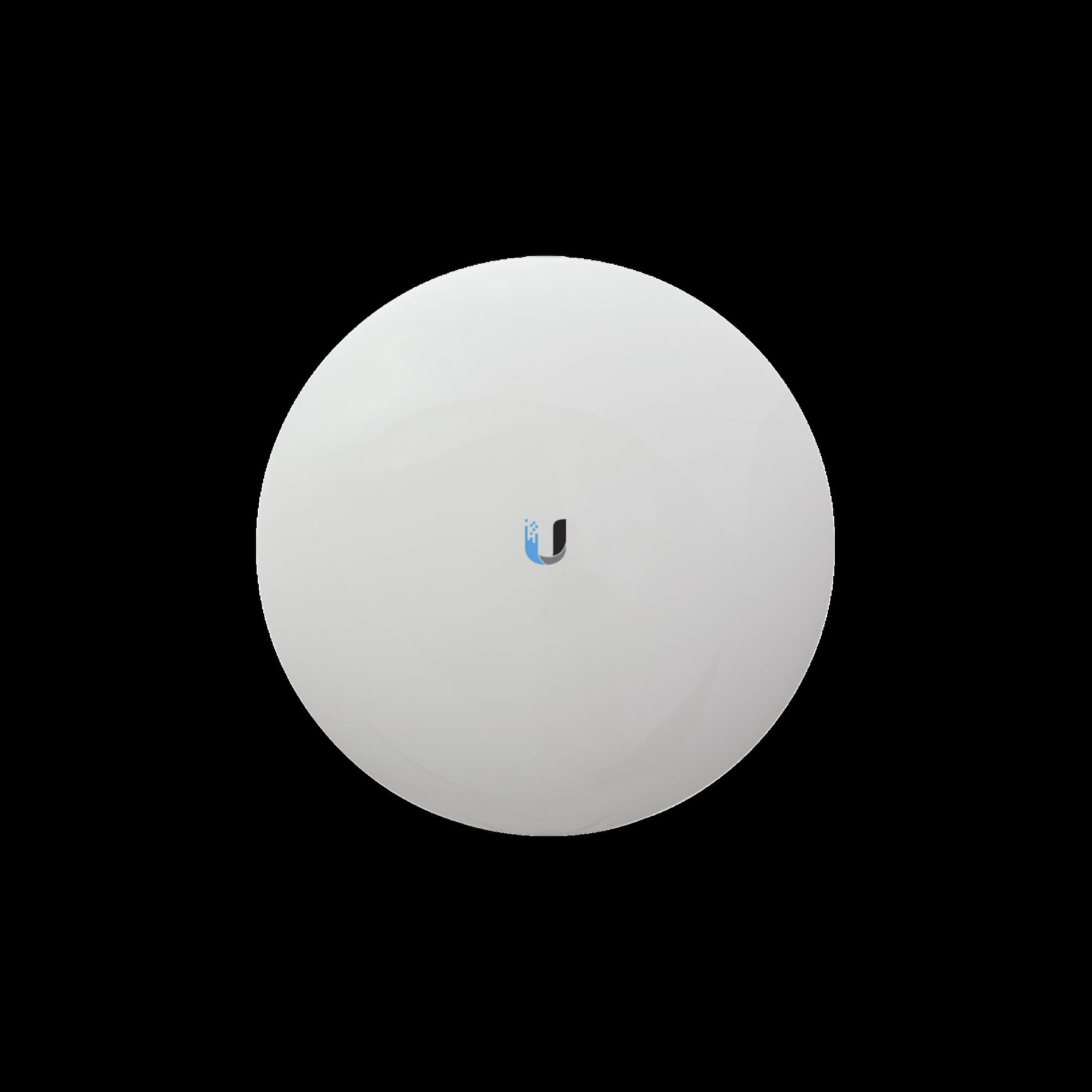 NanoBeam airMAX AC CPE hasta 330 Mbps, 2 GHz (2412 - 2472 MHz) con antena integrada de 13 dBi