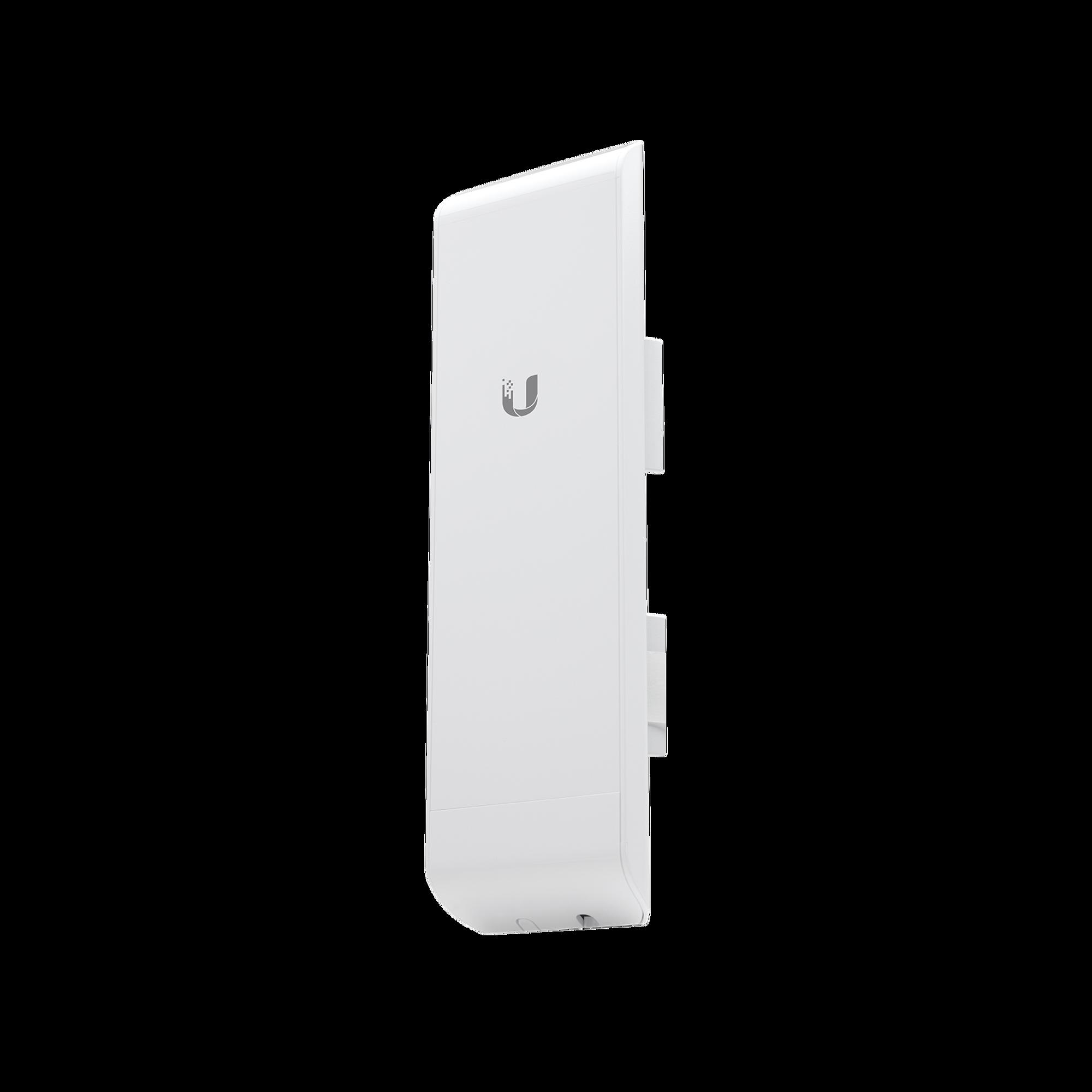 NanoStation airMAX M3 CPE,  hasta 150 Mbps, frecuencia 3 GHz (3400-3700 MHz) con antena integrada de 13 dBi