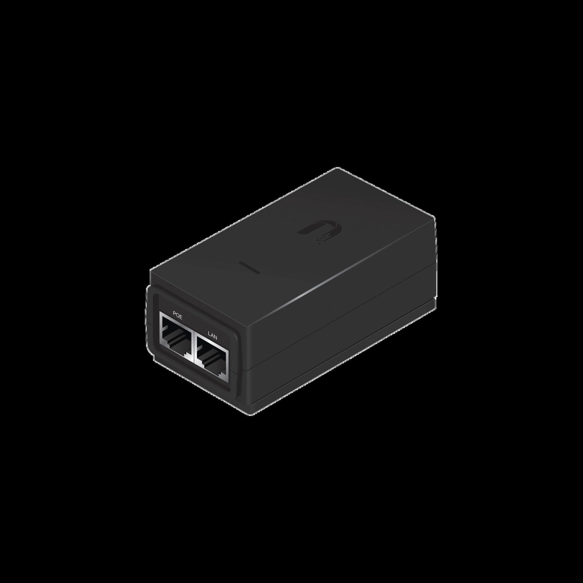 Adaptador PoE Ubiquiti de 24 VDC, 0.5 A, compatible con airGateway