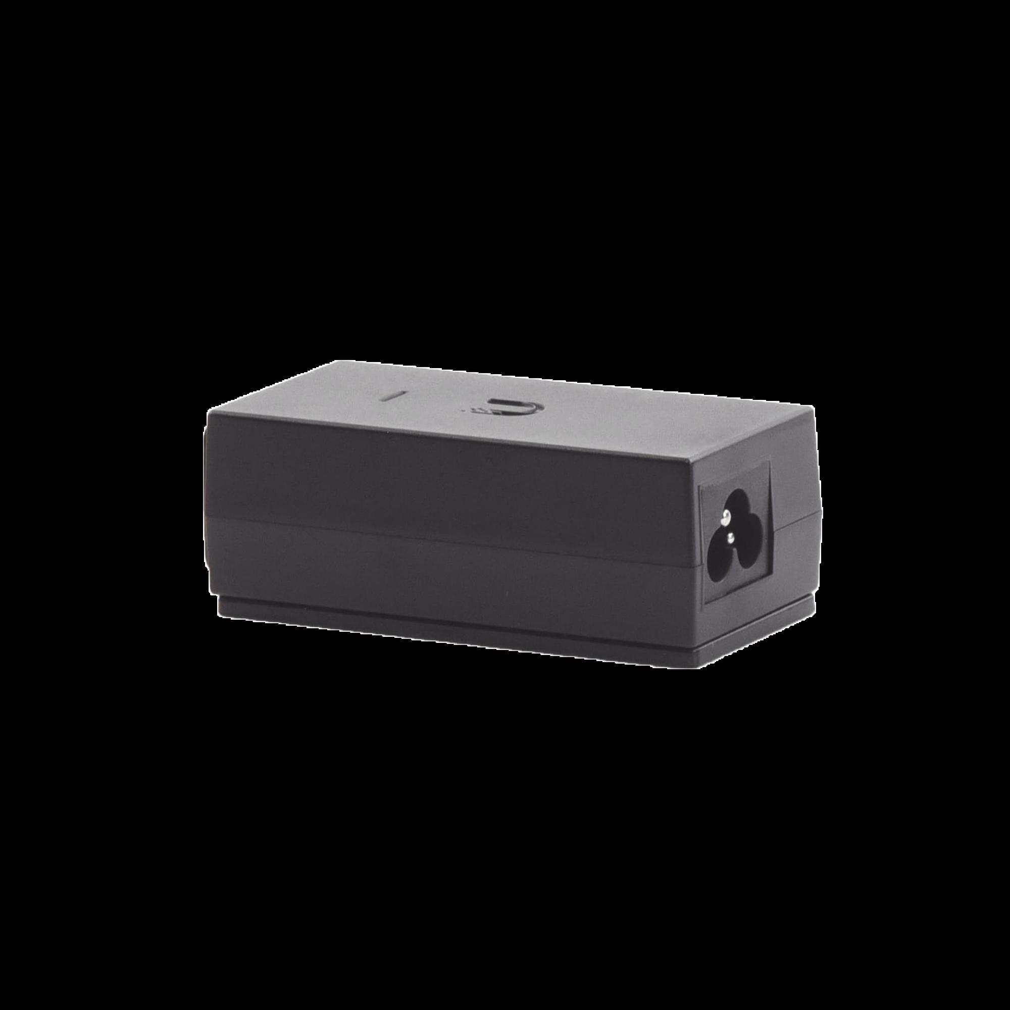 Adaptador PoE Ubiquiti de 24 VDC, 0.5 A con puerto Gigabit, compatible con airGateway