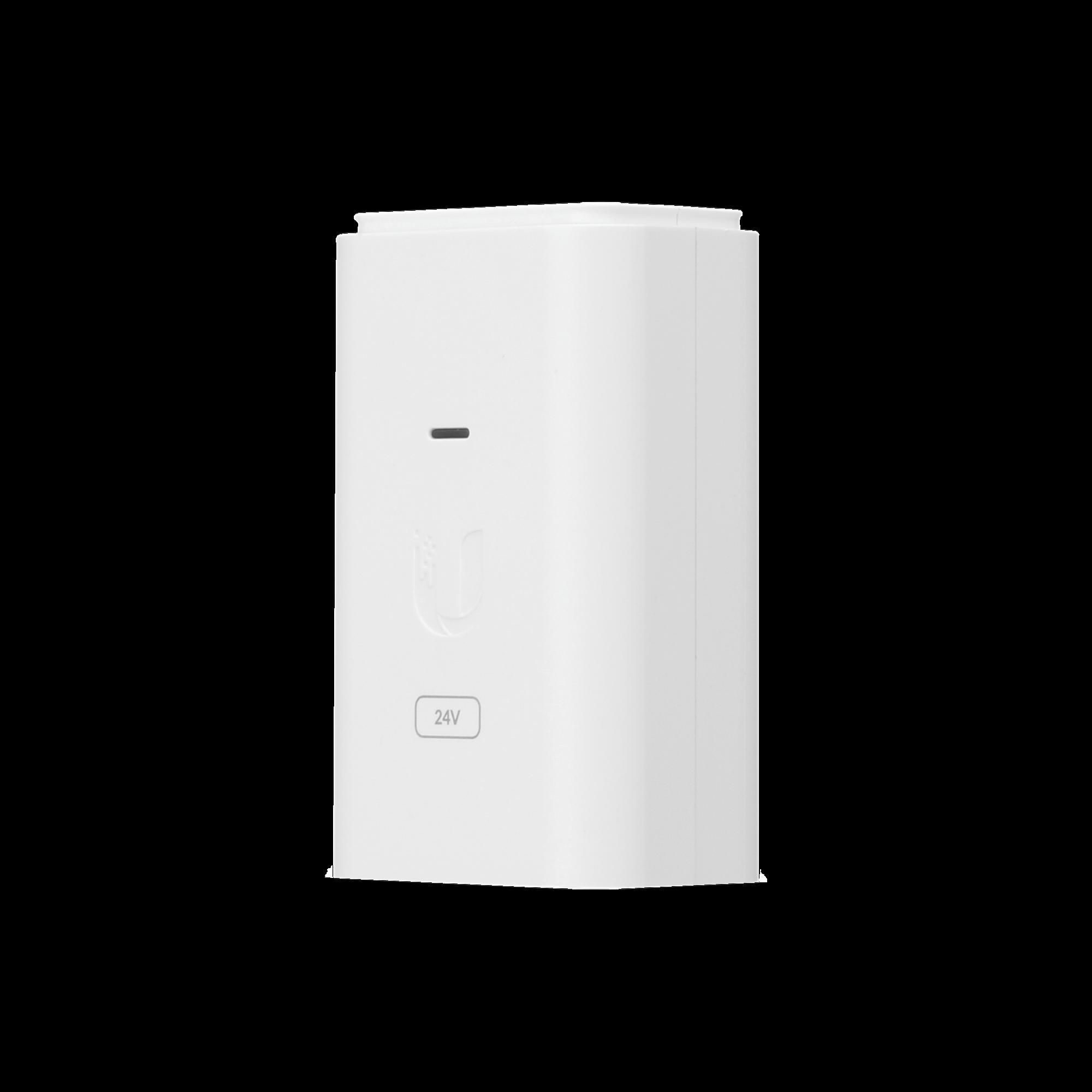 Adaptador PoE Ubiquiti de 24 VDC, 0.3 A