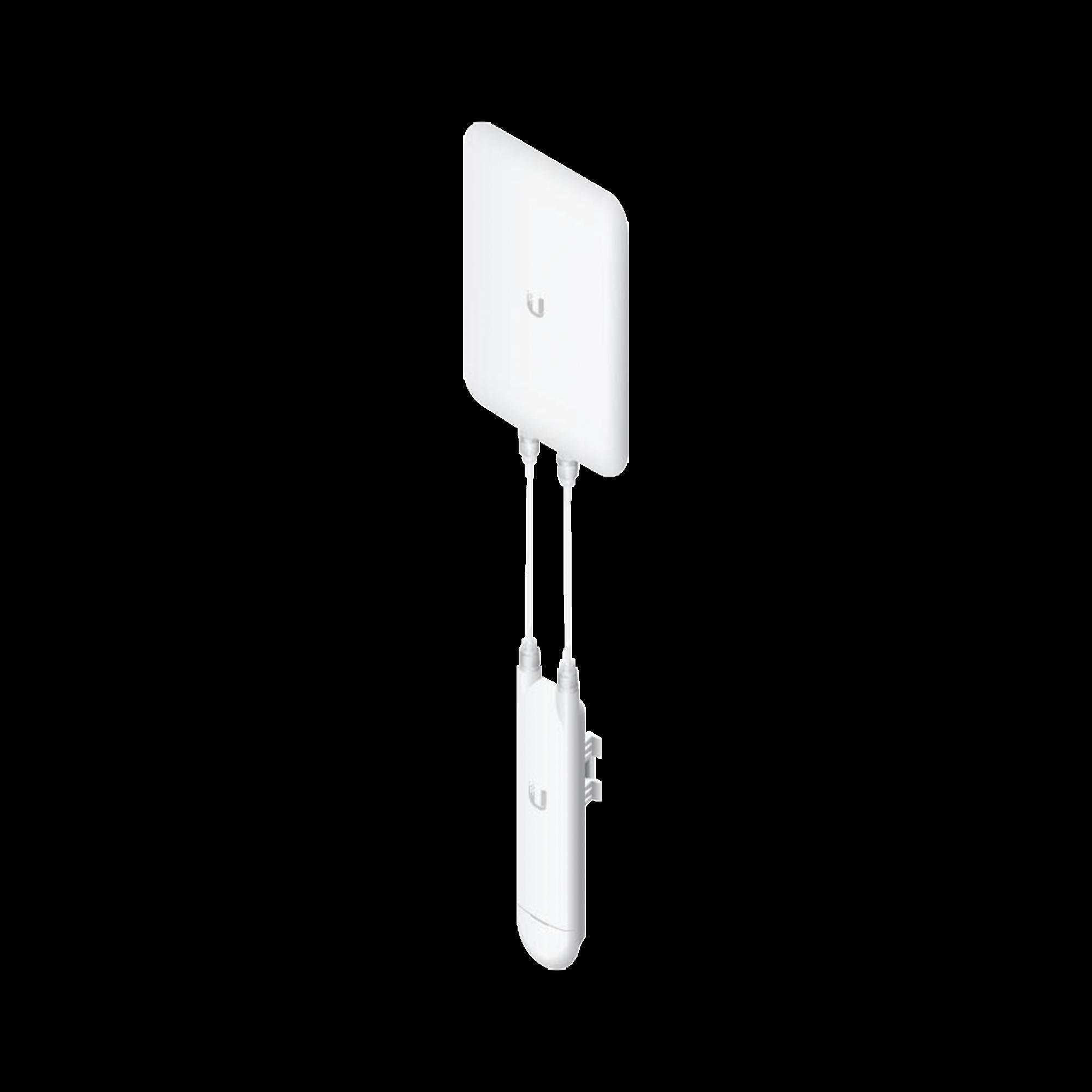 Access Point UniFi MESH con antena sectorial de 90? 802.11ac MIMO 2X2, hasta 100 usuarios.