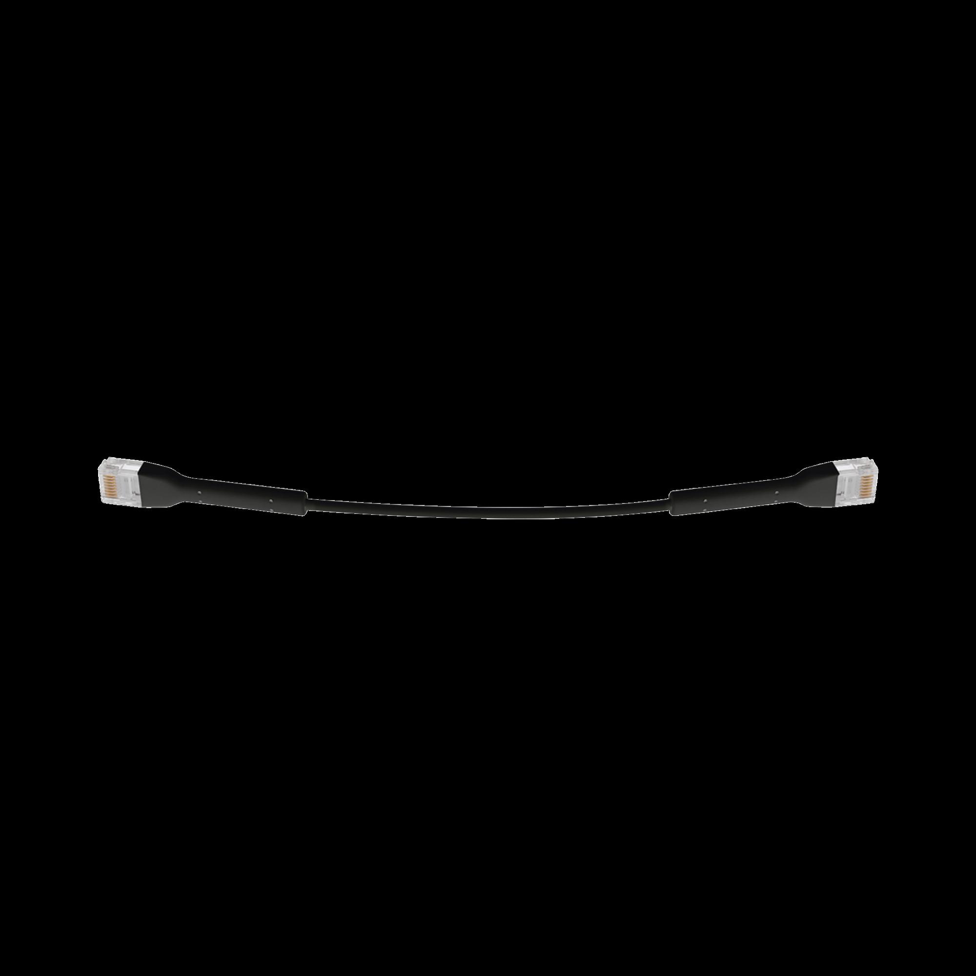 UniFi Ethernet Patch Cable Cat6 de 22 cm, color negro