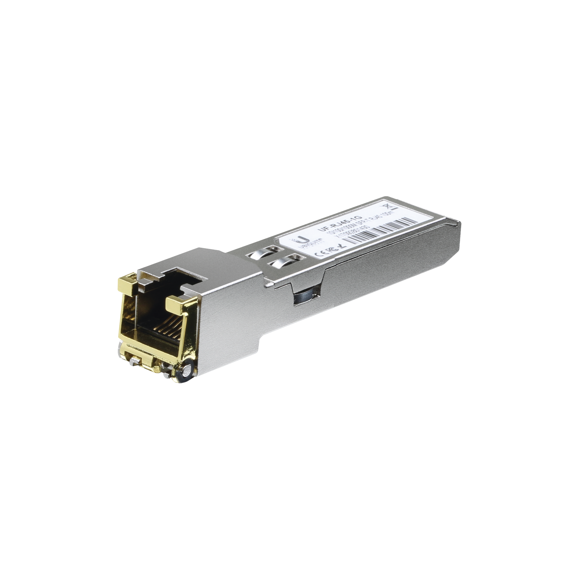 UFiber Módulo Ethernet RJ45 a SFP+ 1/10 Gbps, distancia hasta 100 m (1 Gbps) o 30 m (10 Gbps)