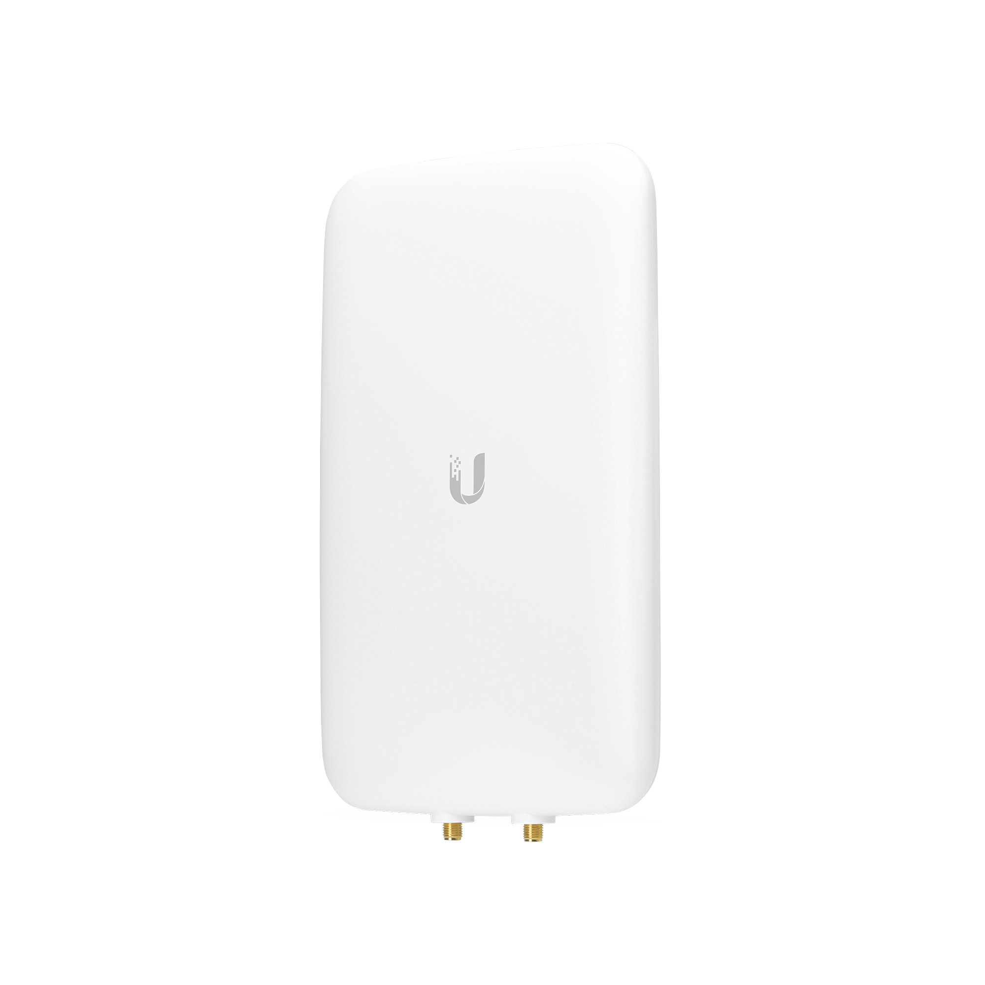 Antena sectorial simétrica UniFi, doble banda con apertura de 90? en 2.4 GHz (10 dBi) y 45? en 5 GHz (15dBi)