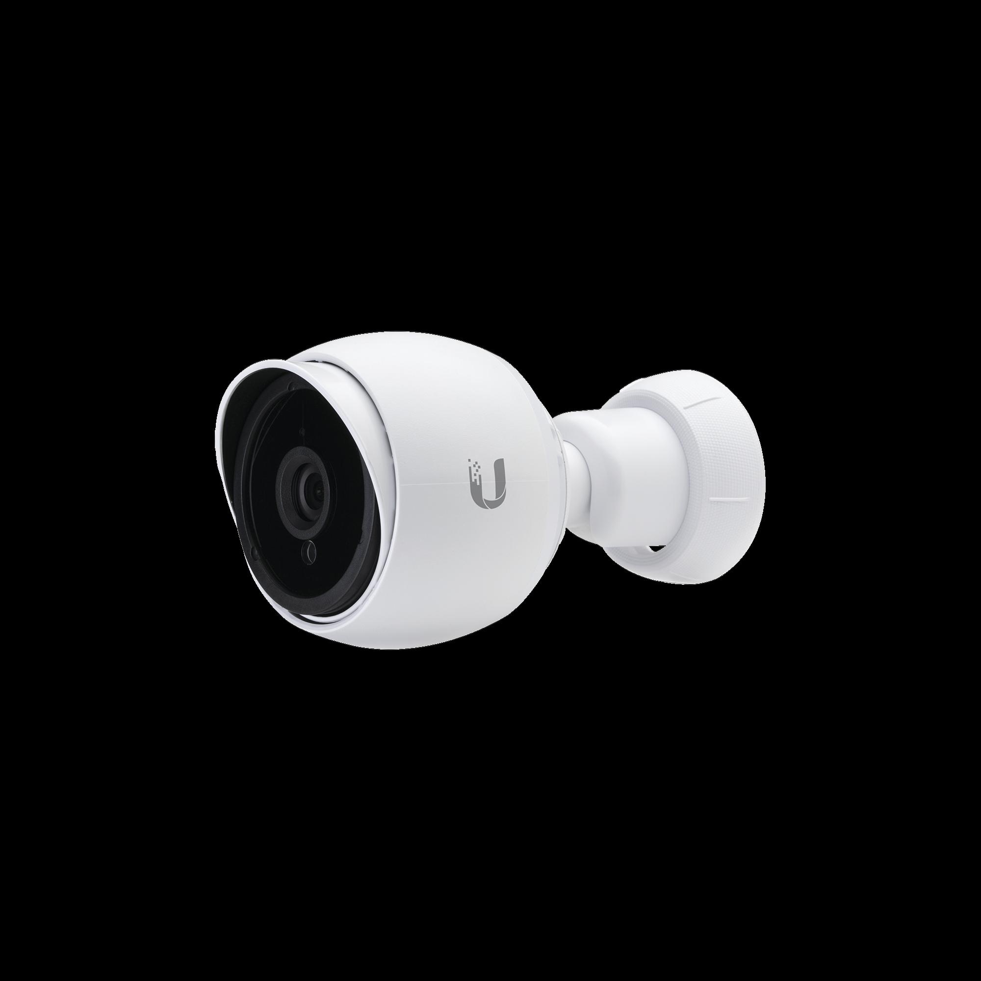 Cámara IP UniFi G3 BULLET de 2mp para interior y exterior con micrófono y vista nocturna, PoE 802.3af o pasivo 24V
