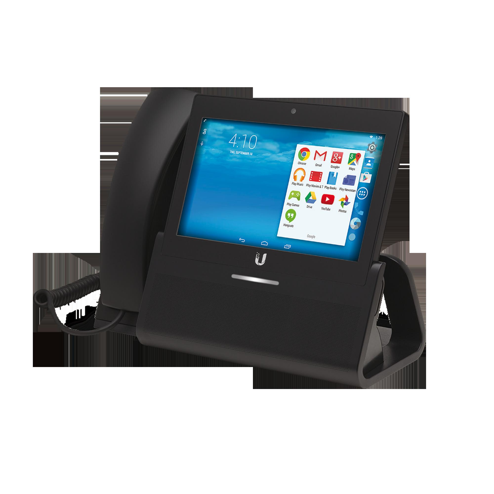 Teléfono IP Android con pantalla táctil de 7, cámara, Bluetooth y WiFi, compatible con SIP abierto Grandstream, 3CX, etc.