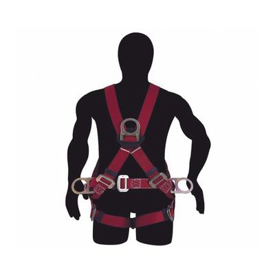 Arnés de Suspensión con Cinturón Talla 36-40 (4 Argollas)