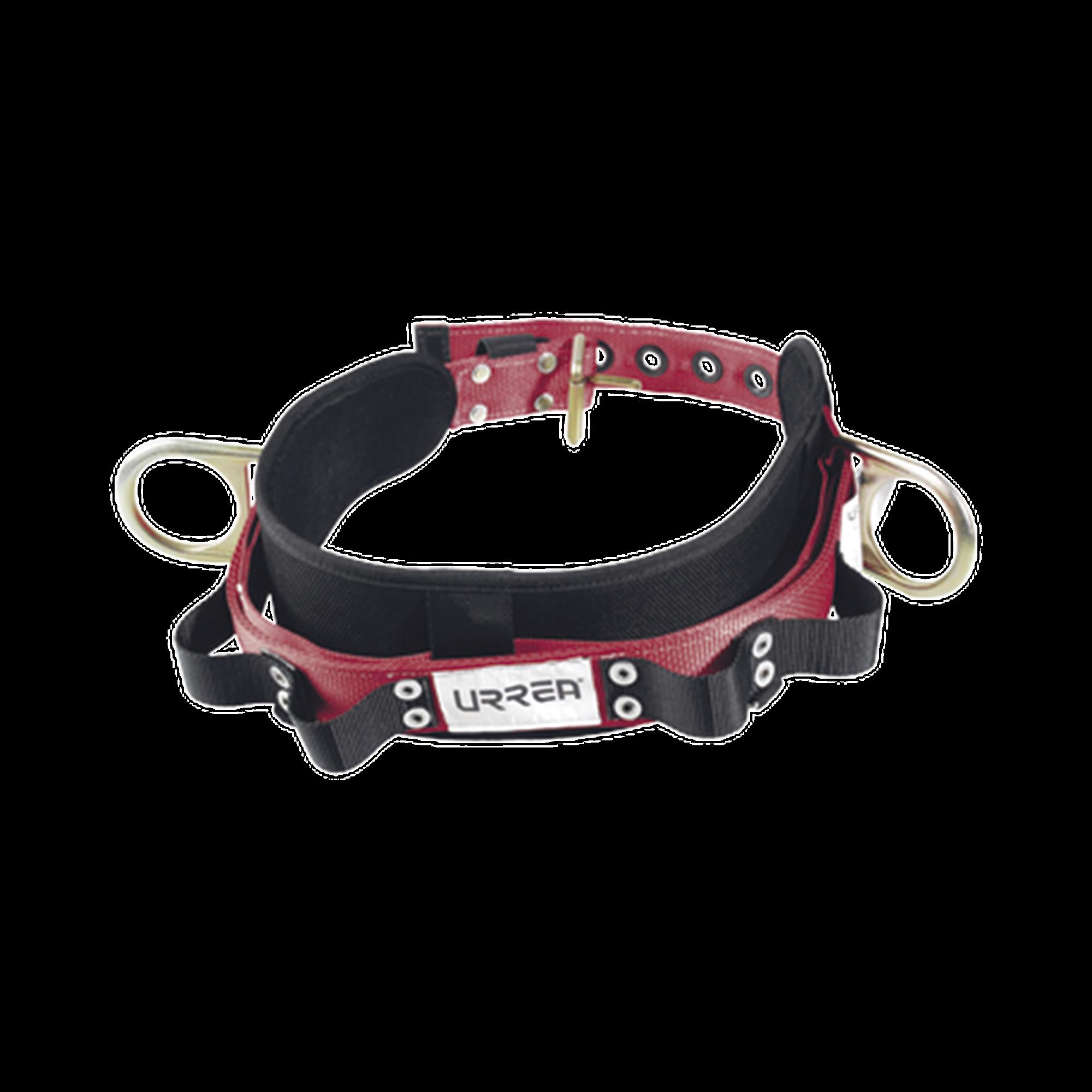 Cinturón para liniero talla 44, con bandas para porta herramientas y dos anillos tipo D.