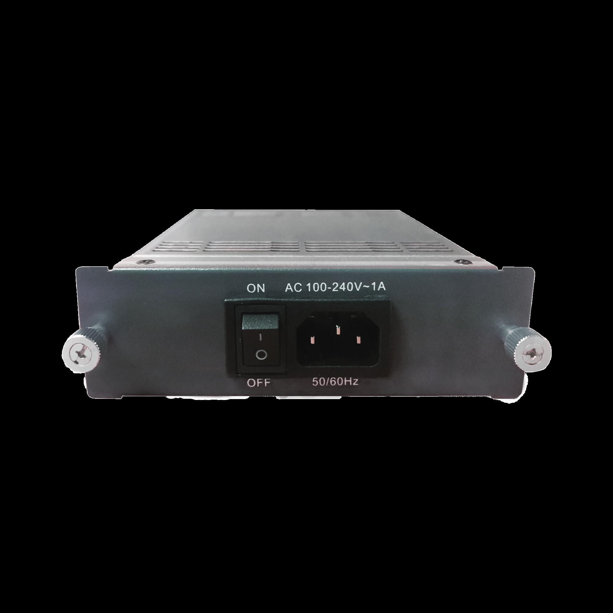 Fuente de poder CA de 100-240 Vca, fuente de alimentacion redundante para OLT V1600-D8