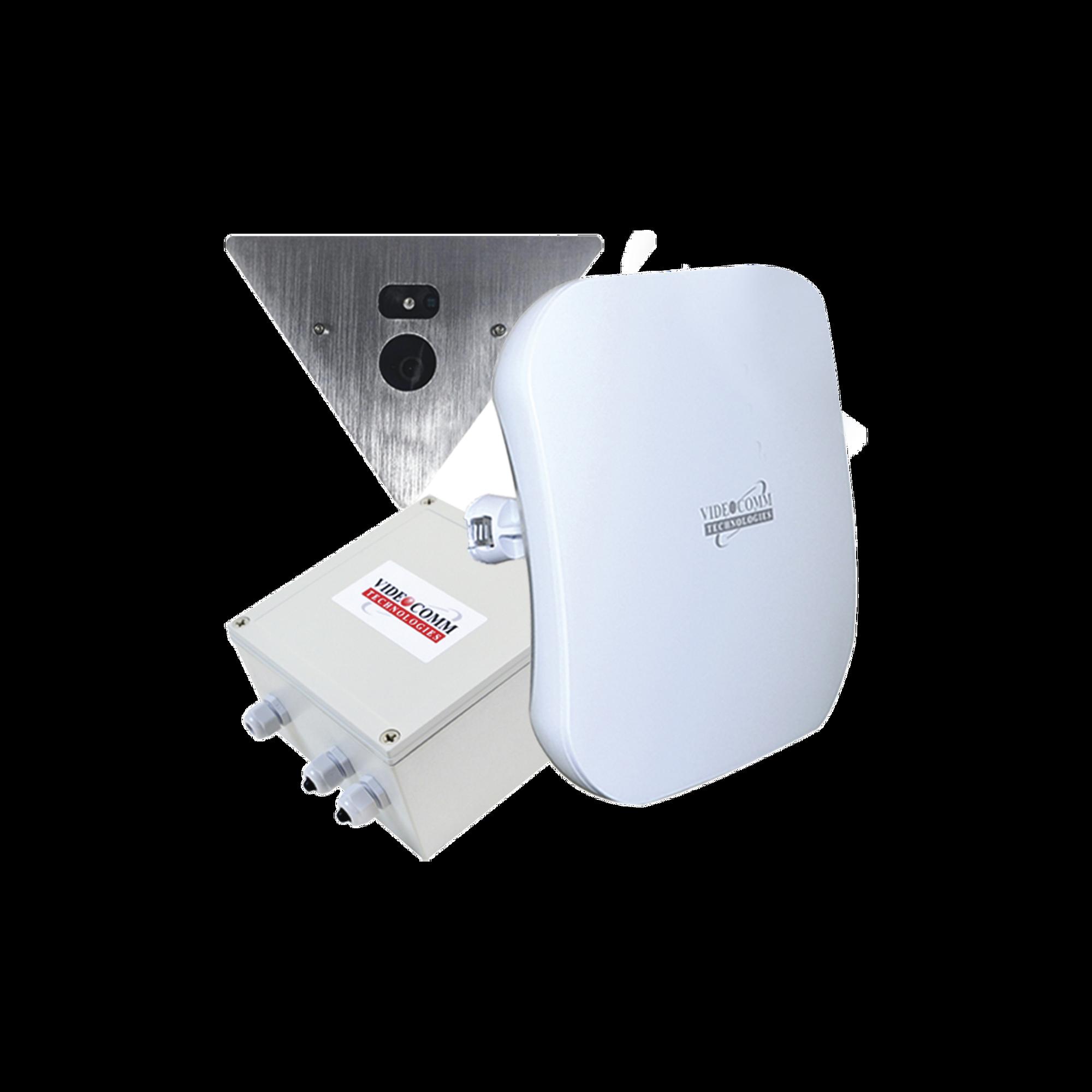 Kit inálambrico en 5.8 Ghz , para elevadores HD-TVI 1080 p @ 30 fps, incluye cámara