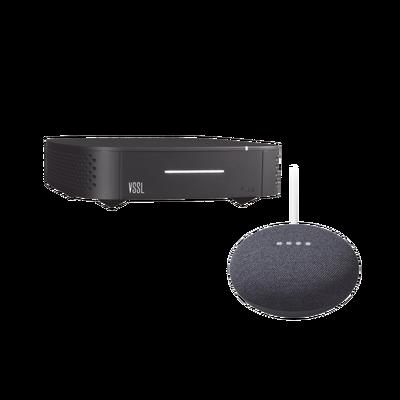 Kit Amplificador Vssl De Una Zona Más Asistente Nestmini Color Negro