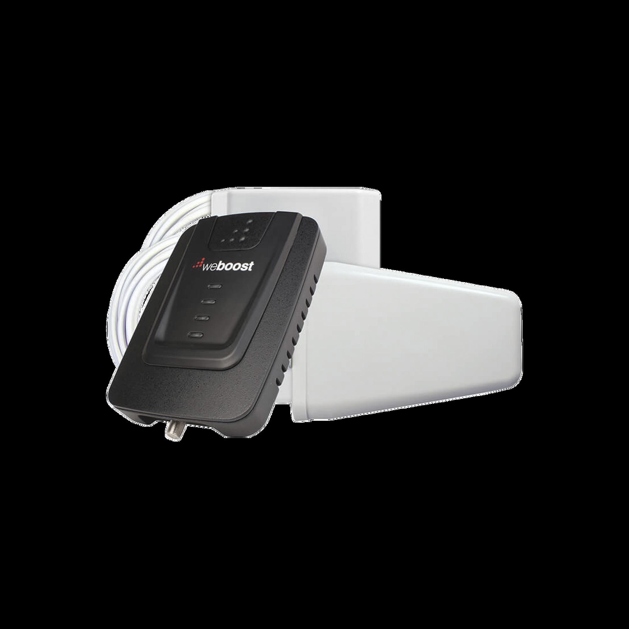 KIT de Amplificador de Se?al Celular Connect 4G, especial para Datos 4G LTE, 3G y Voz. Mejora la se?al en areas de hasta 465 metros cuadrados.