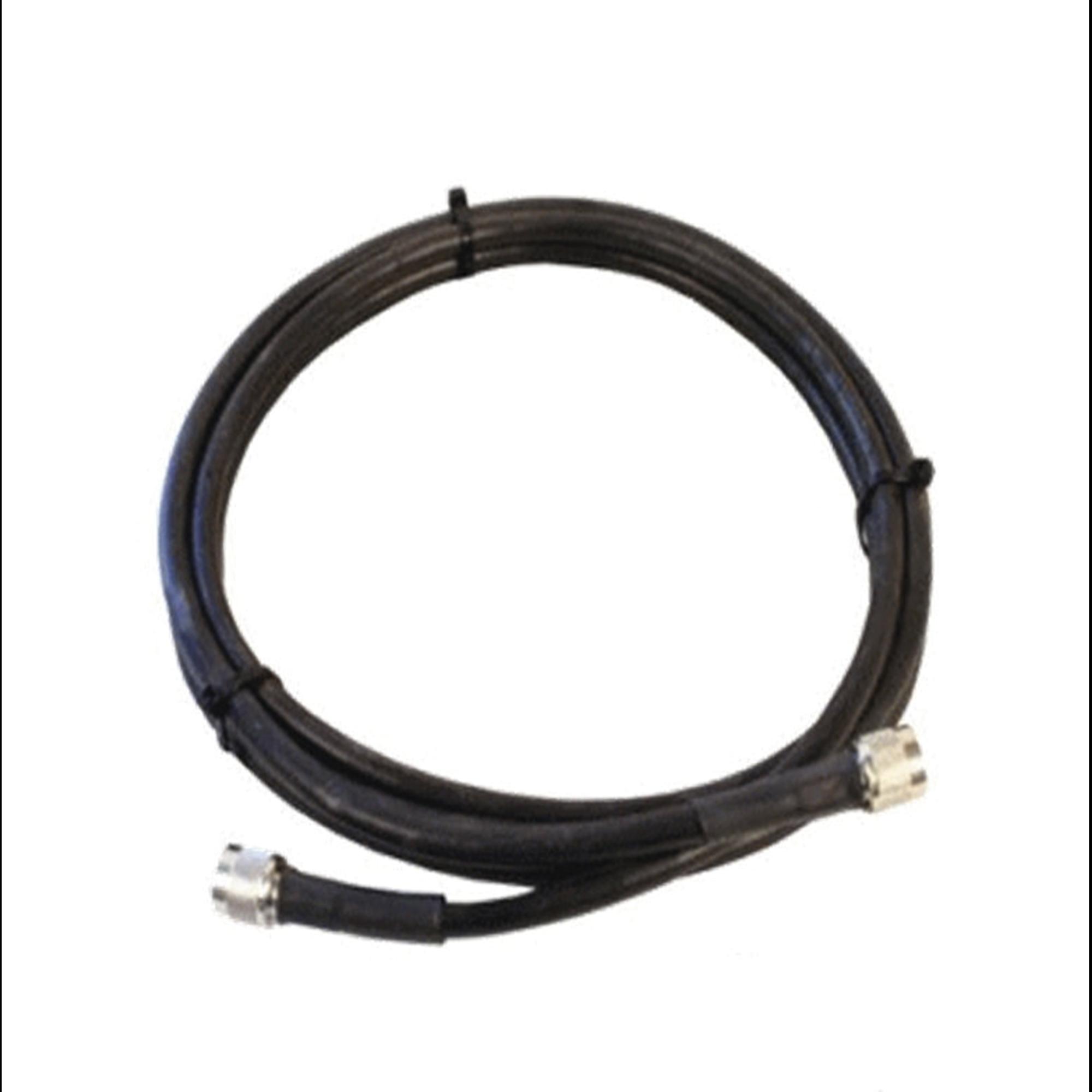 Jumper Coaxial con Cable Wilson-400 | Conector N Macho en los extremos | 3.05 metros de longitud.