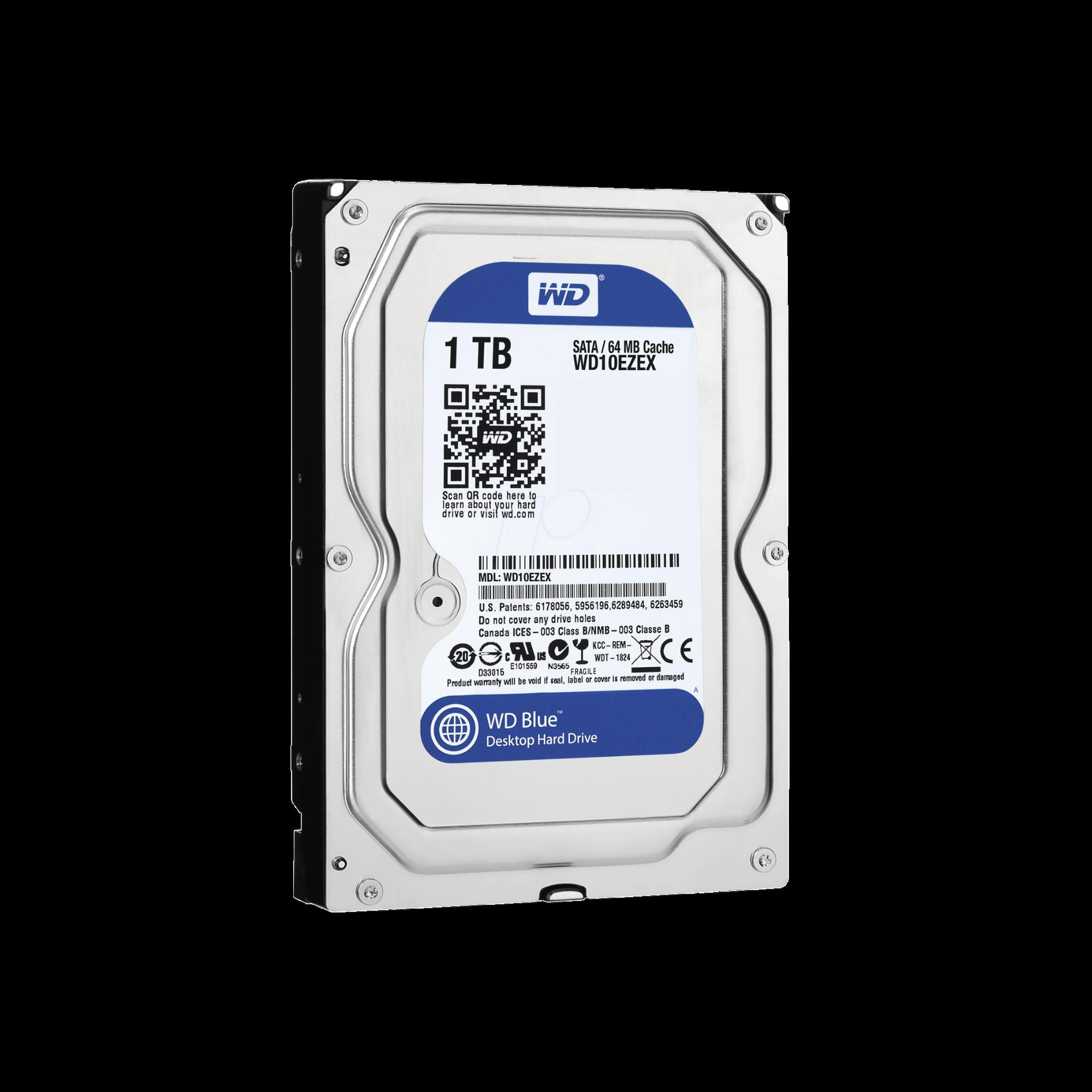 Disco duro WD 1 TB / 7200 RPM / Multi-proposito